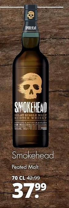 Smokehead Peated Malt