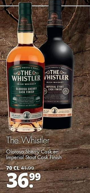The Whistler Oloroso Sherry Cask en Imperial Stout Cask Finish