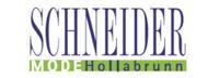 Modehaus Schneider flugblätter