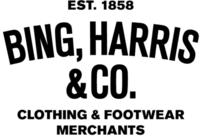 Bing, Harris & Co catalogues