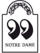 Notre Dame tilbudsaviser