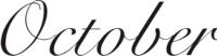 October catálogos
