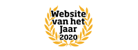 Website van het Jaar 2020 folders