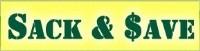 Sack & Save ads