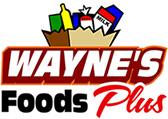 Wayne's Food Plus ads