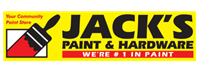 Jack's Paint catalogues