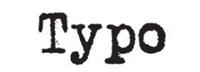 Typo catalogues